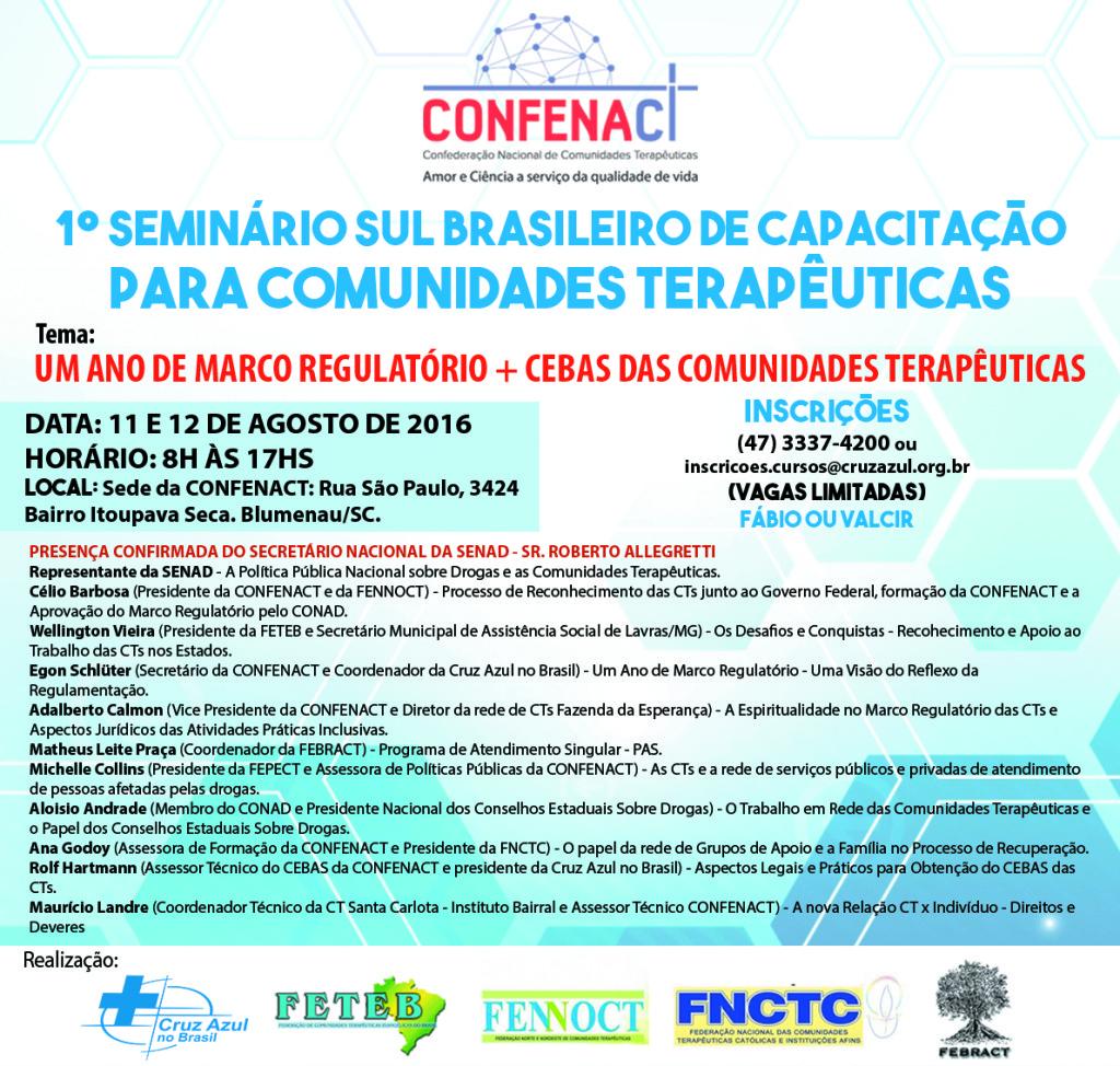 ARTE Facebook - Seminário Sul Brasileiro