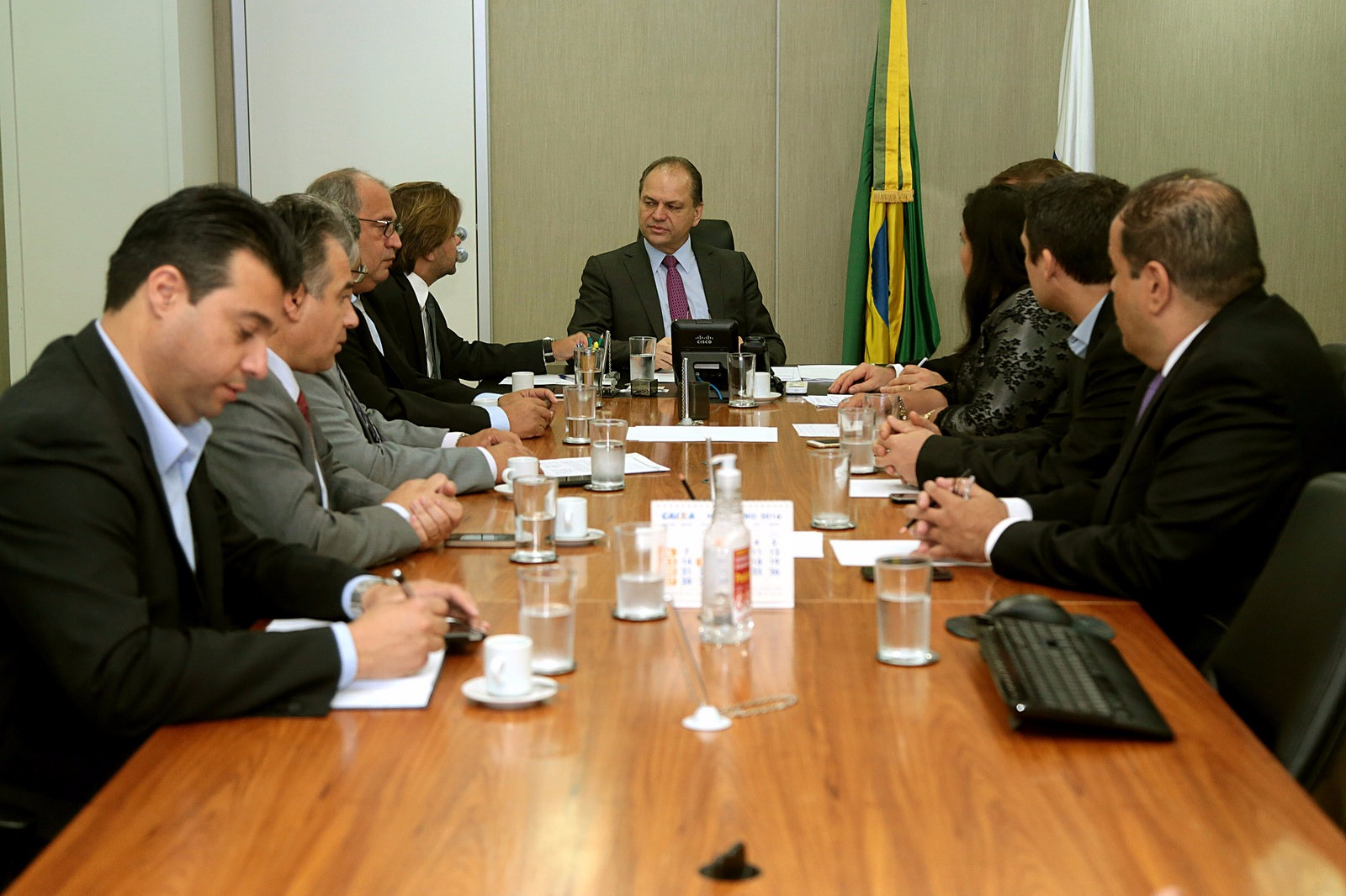 Reunião com o Ministro da Saúde Ricardo Barros - 19 de Outubro