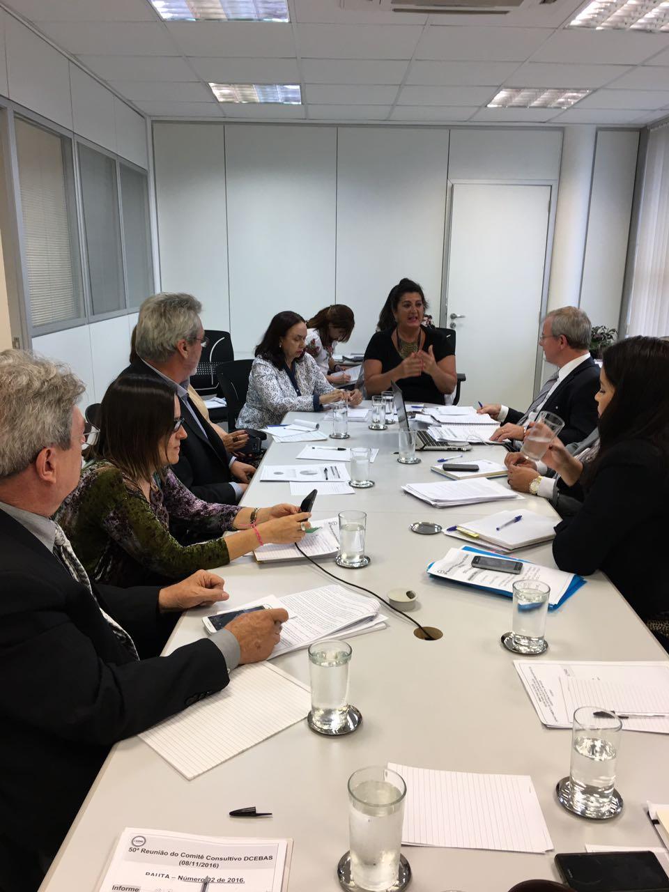 Reunião - Comitê Consultivo do DCEBAS