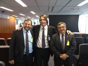 Foto Adalberto, Egon e Pablo - TRF3-SP