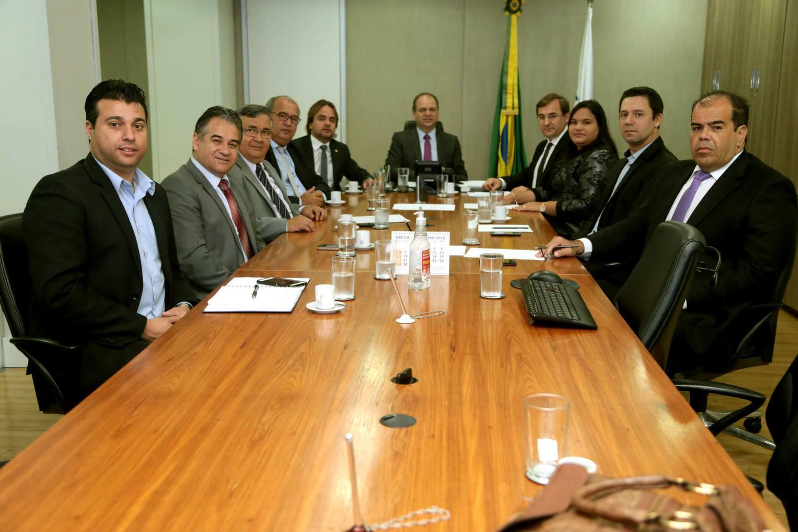 Reunião com o Ministro da Saúde Ricardo Barros – 19 de Outubro